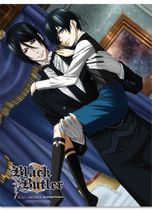 Black Butler Ii - Group Fabric Poster Pre-Order
