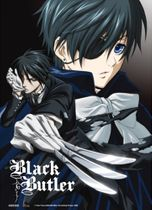 Black Butler - Key Visual 2 Fabric Poster Pre-Order