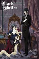 Black Butler - Key Visual Paper Poster Pre-Order