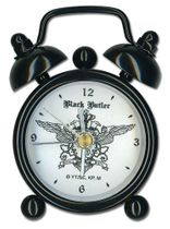 Black Butler Mini Desk Clock Pre-Order