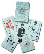 Black Butler Playing Cards Pre-Order