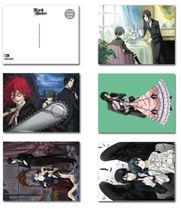 Black Butler Post Card Pre-Order