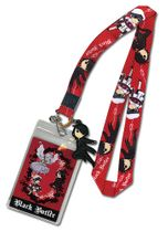 Black Butler - Sd Characters Lanyard RETIRED