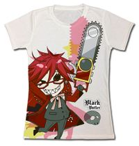 Black Butler - Sd Grell Jrs. T-Shirt S Pre-Order