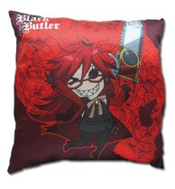 Black Butler - Sd Grell Pillow Back Order