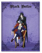 Black Butler - Sebastian And Ciel Throw Blanket Pre-Order