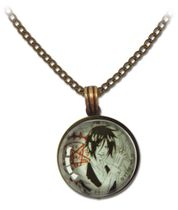 Black Butler - Sebastian Brown Necklace Pre-Order