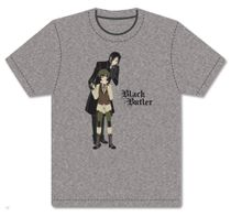 Black Butler - Sebastian & Ciel Disguise Men's Screen Print T-Shirt L Pre-Order