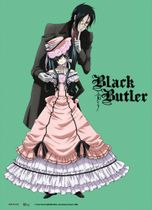 Black Butler Sebastian & Ciel Wall Scroll Pre-Order
