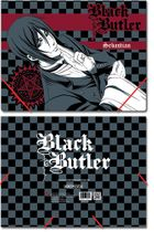 Black Butler Sebastian Elastic Band Document File Folder RETIRED
