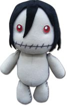 Black Butler Sebastian Made By Grell Plush Pre-Order