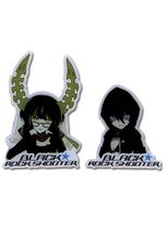 Black Butler Shooter Black Rock Shooter And Deadmaster Metal Pinset RETIRED