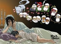 Black Butler - Sleeping Special Edition Wallscroll Pre-Order
