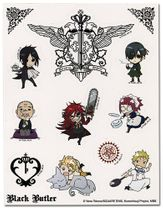 Black Butler Sticker Sheet RETIRED