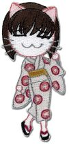 Black Cat Saya Form Patch Pre-Order