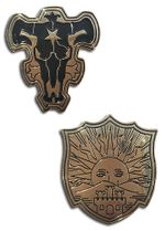 Black Clover - The Black Bulls & The Golden Dawn Pin Set Pre-Order