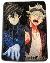 Black Clover - Yuno & Asta Throw Blanket Pre-Order