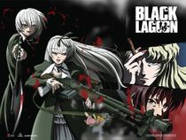Black Lagoon - Hansel & Gretel Wall Scroll Pre-Order