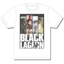 Black Lagoon - Line Up Men's T-Shirt Size XL TBD