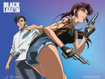 Black Lagoon - Revy & Rock Wall Scroll Pre-Order