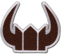 Black Rock Shooter - Black Gold Saw Icon Patch RETIRED