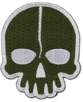 Black Rock Shooter - Dead Master Icon Patch RETIRED