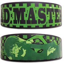 Black Rock Shooter Dead Master Pvc Wristband RETIRED