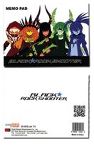 Black Rock Shooter Group Memo Pad RETIRED