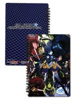Black Rock Shooter Group Notebook RETIRED