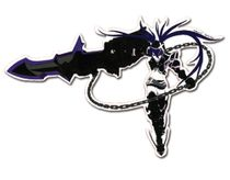 Black Rock Shooter Ibrs Sticker RETIRED