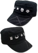 Black Rock Shooter Icon Girl Cadet Cap RETIRED