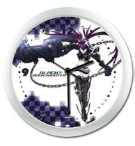 Black Rock Shooter - Insane Black Shooter Wall Clock RETIRED