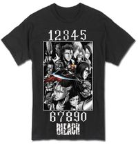 Bleach - Bleach Group Men's T-Shirt S Back Order
