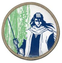 Bleach Byakuya Dull Color Patch Pre-Order