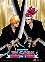 Bleach Ichigo & Renji Wall Scroll Pre-Order