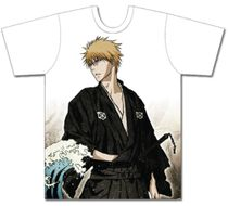 Bleach - Ichigo With Ukiyoe Theme Men's T-Shirt XL Pre-Order
