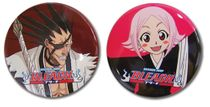 Bleach Kenpachi And Yachiru Pin Set Pre-Order