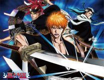 Bleach - Kurosaki, Byakuya & Renji Sublimation Throw Blanket Pre-Order