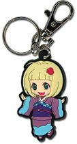 Blue Exocist Shiemi Pvc Keychain RETIRED
