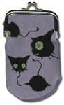 Blue Exorcist Coal Tar Knitted Coin Purse Pre-Order