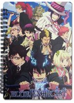 Blue Exorcist Keyart Notebook Pre-Order
