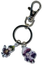 Blue Exorcist Mephisto And Anaimon Metal Keychain RETIRED