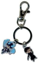 Blue Exorcist Rin And Yukio Metal Keychain RETIRED