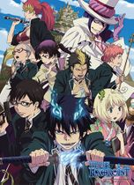 Blue Exorcist True Cross Academy Fabric Poster Back Order