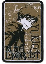 Blue Exorcist Yukio Embroidered Patch Pre-Order