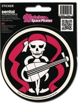 Bodacious Space Pirates Bentenmaru Flag Sticker RETIRED
