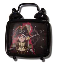 Bodacious Space Pirates Marika Desk Clock RETIRED