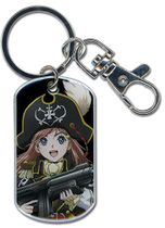 Bodacious Space Pirates- Marika Dog Tag Keychain RETIRED