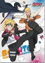 Boruto - Group Wall Scroll Pre-Order