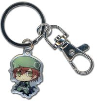 Brave 10 Sasuke Metal Keychain RETIRED